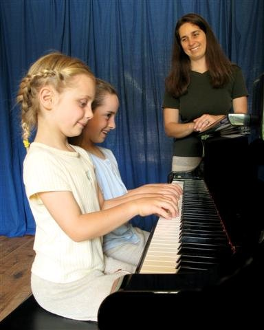 barb and girls piano