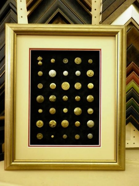 framing buttons