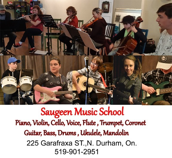 sm Saugeen music school